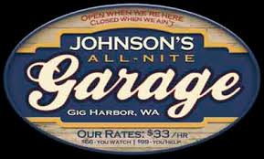 Personalized Garage Sign Garage Shop Personalized Signs