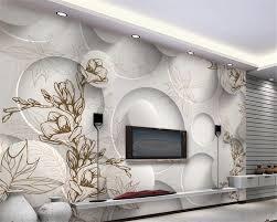 beibehang 3d tapete moderne linie zeichnung magnolia ahorn blatt wohnzimmer 3d tv wand hintergrund wandbilder wallpaper für wände 3 d