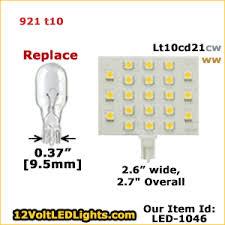 921 led bulb replacement lt10b6ww 12 volt led bulb led 1063