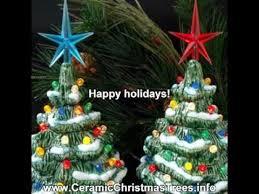 Miniature Ceramic Xmas Trees