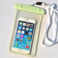 Universal waterproof phone bag case for iphone 6s transparent