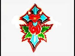 How To Draw A Cross With Rose For Tattoos Como Dibujar Una Cruz Con Flores