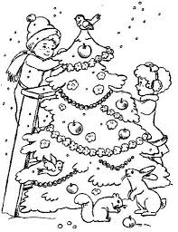 Christmas Games Tree Coloring For Kids
