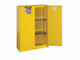 Flammable Liquid Storage Cabinet Grounding by Flammable Storage Cabinet Self Closing Doors 45 Gallons