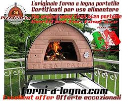 amazon com wood fired oven pizza party 70x70 bronze save 500