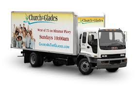 Church In The Glades Truck Wrap Design | AdServices Inc.