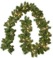 Pre Lit Christmas Tree No Lights Working by Amazon Com General Foam Plastics Pre Lit Portland Branch Garland