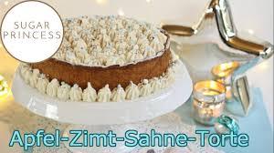 einfache apfel zimt torte adventstorte weihnachtstorte sccc 2019 1 rezept sugarprincess