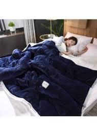 schlafdecke mit gewicht heim decke kuscheldecke winter