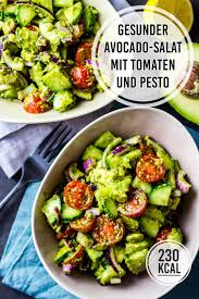 gesunder avocado salat geht schnell macht satt und ist