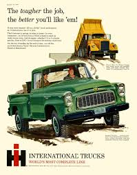 The Tougher The Job, The Better You'll Like 'em ! International ... The Kirkham Collection Old Intertional Truck Parts 1960 Harvester B100 Pick Up Story By Tony Barger Intertional 4700 Gas Fuel For Sale Auction Or Lease Loadstar Wikipedia Autolirate 1959 B110 Pickup 120 L R S A 1950 1954 B120 34 Ton All Wheel Drive 44 Wkhorse Ton Stepside Truck All Wheel Drive 4x4 Lonestar R190 Semi Truck Item E4519 Sold Octo Other Metro Ebay Motors Cars
