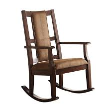 Amazon.com: Acme Furniture 59378 Butsea Rocking Chair, Brown Fabric ... 10 Best Rocking Chairs 2019 Building A Modern Plywood Chair From One Sheet White Baby Rabbit With Short Ears Sitting On Wood Armchairs Recliner Ikea Striped Upholstered Mahogany Framed Parts Of Hunker Uhuru Fniture Colctibles Sold Rocker 30 The Thing I Wish Knew Before Buying For Our Buy Living Room Online At Overstock Find More Inoutdoor Classic Wooden Like Hack Strandmon Diy Wingback Interiors