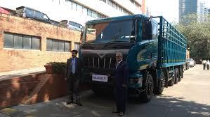 100 Mahindra Trucks Blazo X Range Of HCV Trucks Launched Throttle Blips
