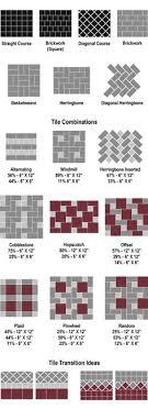 gorgeous tile installation patterns travertine tile pattern floor