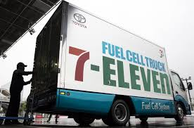 100 Truck Fuel SevenEleven To Use Toyota Fuel Cell Trucks For Deliveries Next Year