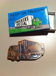 100 Stockmans Truck Stop 1970s Limited Edition Eighteen Wheeler Knife From Taylor Etsy