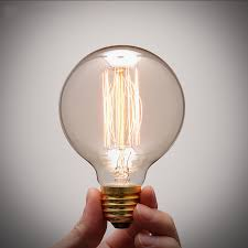1pc antique vintage retro edison light bulbs 220v dimmable