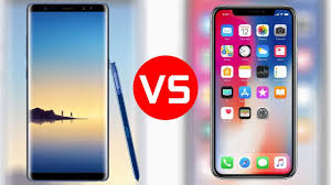iPhone X Vs Samsung Galaxy Note 8 Which e s Better