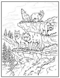 Realistic Wolf Coloring Pages Free Printable For Kids Embroidery Pinterest And