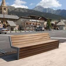 victoria garden bench modern metal with wood u2026 urban design