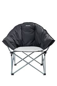 Reclining Camping Chairs Ebay by Kingcamp Sofa Chair Oversize Padded Reclining Folding Heavy Duty