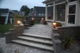 Exterior, Front Porch : Good Looking Home Exterior Decorations Of ... Landscape Steps On A Hill Silver Creek Random Stone Steps Exterior Terrace Designs With Backyard Patio Ideas And Pavers Deck To Patio Transition Pictures Muldirectional Mahogony Paver Stairs With Landing Google Search Porch Backyards Chic Design How Lay Brick Paver Howtos Diy Front Good Looking Home Decorations Of Amazing Garden Youtube Raised Down Second Space Two Level Beautiful Back Porch Coming Onto Outdoor Landscaping Leading Edge Landscapes Cool To Build Decorating Best