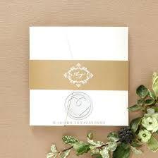 Pocket Wedding Invitations Uk Rustic Luxury