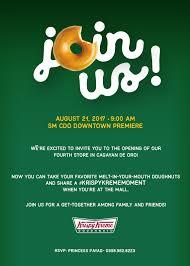 Krispy Kreme Halloween Donuts Philippines by Cookie U0027s Corner Krispy Kreme Welcomes 4th Store In Cagayan De Oro