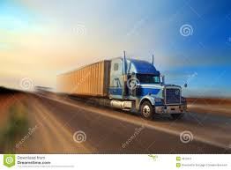 Truck Freight Delivery Stock Image. Image Of Freight, Driving - 4672011