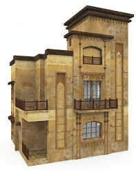 100 Desert House MultiStory 3D Models And 3D Software By Daz 3D