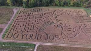 Portland Pumpkin Patch Corn Maze by Pumpkin Valley Farm Corn Maze Tom Brady Dayton Maine Youtube