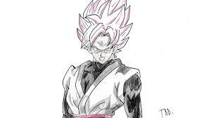 Goku Ssj4 Sketch Printable Coloring Page For Kids