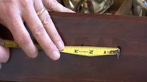 Kitchen Cabinet Knob Placement Template by Home Maintenance How To Measure For Cabinet Hardware Youtube