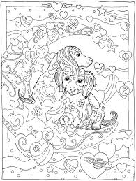 Welcome To Dover Publications Creative Haven Dazzling Dogs Coloring Book Marjorie Sarnat 2