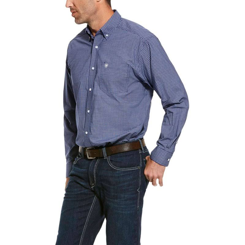 Ariat Men's Roman Pro Series Stretch Long Sleeve Western Shirt