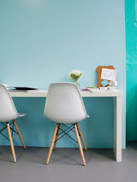 turquoise wall paint home office midcentury with aqua behr paint