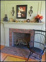 Primitive Decorating Ideas For Fireplace by 45 Best Primitive Mantle Ideas Images On Pinterest Primitive
