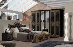 schlafzimmer set 4 tlg mit gepolstertem kopfteil kaufen otto