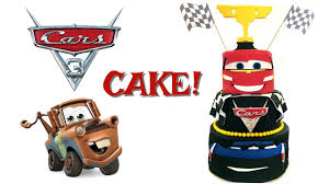 CARS 3 CAKE MISS TRENDY TREATS