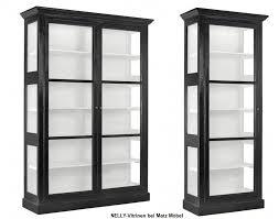 nelly vitrine weiß schwarz matz möbel vintage designermöbel