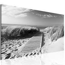 bilder drucke leinwand bilder strand meer landschaft sepia