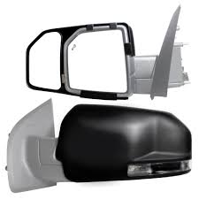 Snap & Zap Clip-on Towing Mirror Set For 2015 - 2018 Ford F-150 ... Semi Truck Mirror Exteions Elegant 2000 Freightliner Century Class Mir04 Universal Clip On Truck Suv Van Rv Trailer Towing Side Mirror Curt 20002 Passenger Side Towing Extension Extenders Fresh Amazon Polarized Sun Visor Extender For Best Mirrors 2018 Hitch Review Awesome Exterior Body Cipa Install Video Youtube Want Real Tow Mirrors For Your Expy Heres How Lot Of Pics Ford View Pair Set 0408 F150 2pc Universal Clipon Adjustable