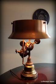 Stiffel Table Lamps Vintage by Torch Table Lamps Hand Crafted Steampunk Edison Light Vintage