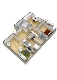 Building Floor Plan Colors 40 More 2 Bedroom Home Floor Plans