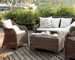 Amilie Resin Wicker Outdoor Set From Caluco
