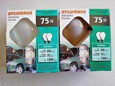 sylvania 12992 100w a 21 service safeline light bulb ebay