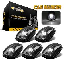 5x264146BK White LED Cab Roof Marker Running Lights Smoke Lens For ... Obd Genie Cdrl Daytime Running Lights Programmer For Chrysler Dodge Spyder Free Shipping I Want To Put Running Lights On My Truck Help Cummins Tail Led Light Bar Spec D Motorcycle Pair Dualcolor Cob Led Car Daytime Fog Lamp Ford 201518 Board Premium F150ledscom 5 Smoke Roof Cab Marker Coverxenon White T10 Led Ford F150 Questions 2013 Electrical Cargurus Csnl 1 Set For Toyota Hilux Revo Rocco 2018 Drl Tundra Daytime Running Lights System Tundra Forum