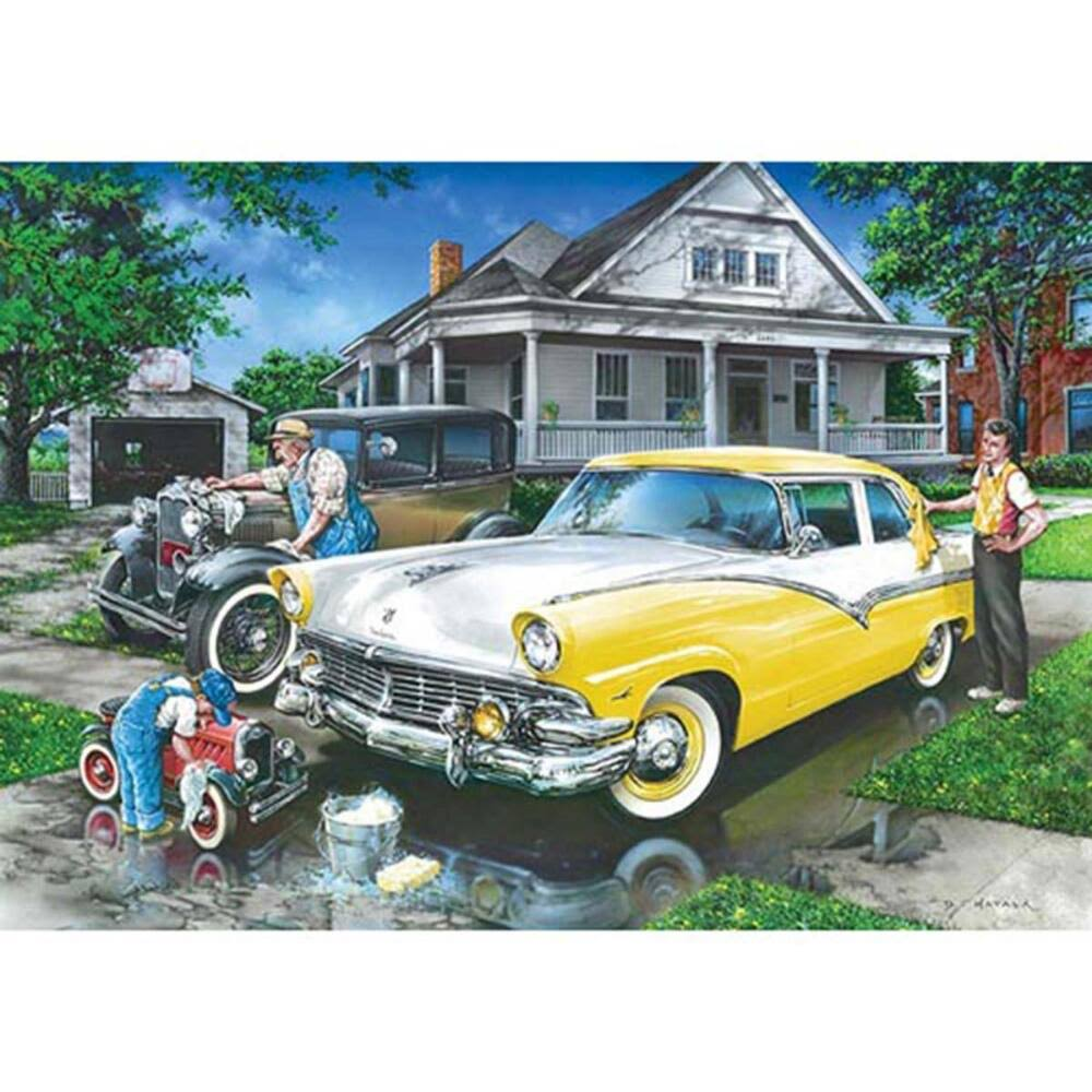 MasterPieces Childhood Dreams Three Generations Jigsaw Puzzle - 1000 Pieces