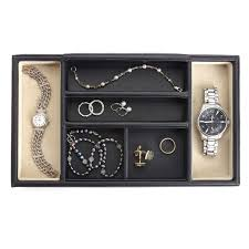 Mens Dresser Top Valet by Mens Jewelry Boxes On Hayneedle Mens Jewelry Organizers