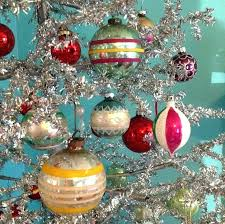 Vintage Christmas Tree Ornaments Old Decorations